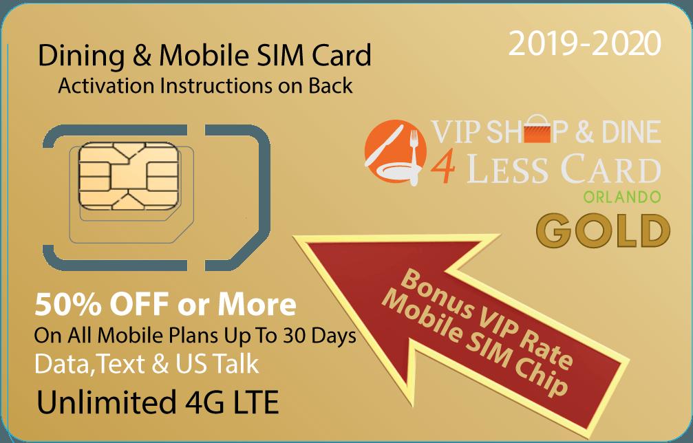 Valencia Orange VIP Card - Rate Plans | Smart SIM USA
